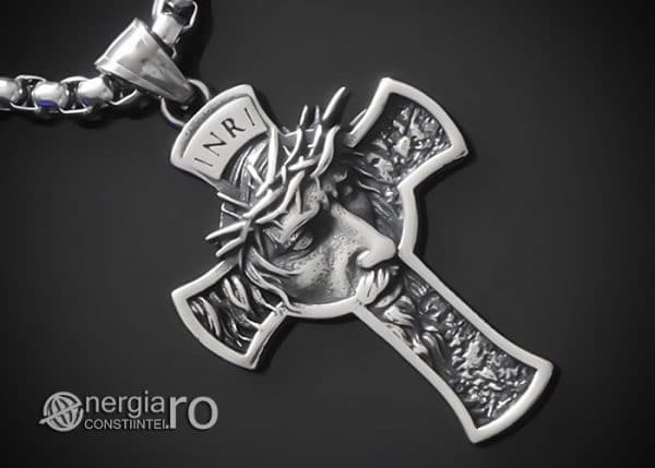 amuleta-talisman-medalion-colier-pandant-pandantiv-crucifix-cruce-cruciulita-isus-iisus-cristos-hristos-inox-PND189-00