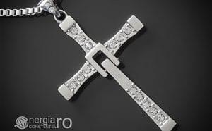 amuleta-talisman-medalion-colier-pandant-pandantiv-crucifix-cruciulita-cruce-fast-and-furious-vin-diesel-dominic-toretto-inox-PND049c-00