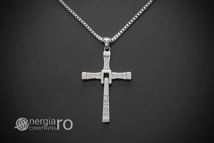 amuleta-talisman-medalion-colier-pandant-pandantiv-crucifix-cruciulita-cruce-fast-and-furious-vin-diesel-dominic-toretto-inox-PND049c-01