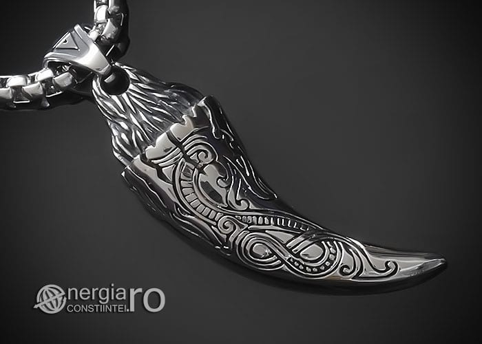 amuleta-talisman-medalion-colier-pandant-pandantiv-colt-de-lup-protectie-protector-curaj-inox-PND291-00
