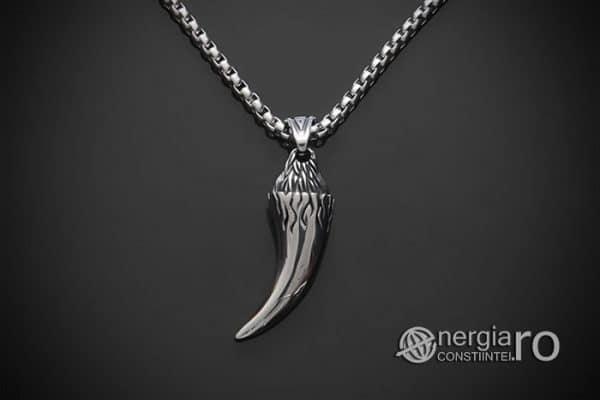amuleta-talisman-medalion-colier-pandant-pandantiv-colt-de-lup-protectie-protector-curaj-inox-PND291-02