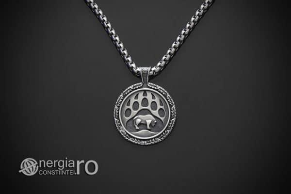 amuleta-talisman-medalion-pandant-pandantiv-laba-gheara-de-urs-inox-PND236-01