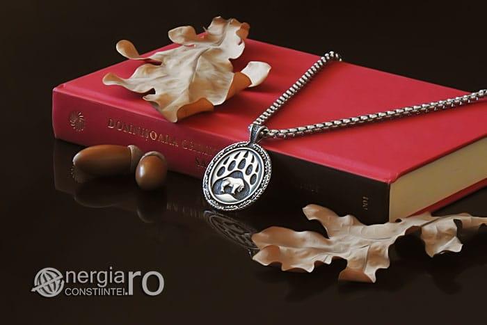 amuleta-talisman-medalion-pandant-pandantiv-laba-gheara-de-urs-inox-PND236-03