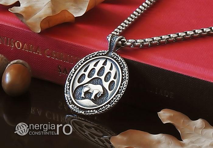 amuleta-talisman-medalion-pandant-pandantiv-laba-gheara-de-urs-inox-PND236-04