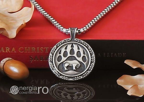 amuleta-talisman-medalion-pandant-pandantiv-laba-gheara-de-urs-inox-PND236-06