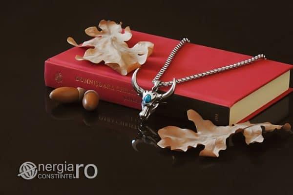 amuleta-talisman-medalion-colier-pandant-pandantiv-cap-de-bour-taur-bou-cristal-turcoaz-protector-protectie-curaj-inox-PND252-03