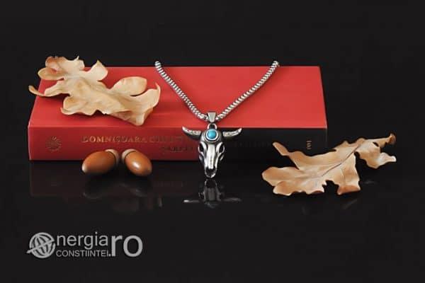 amuleta-talisman-medalion-colier-pandant-pandantiv-cap-de-bour-taur-protectie-protector-protectie-cristal-cuart-inox-PND253-05
