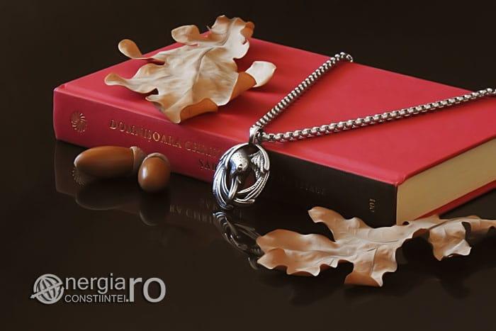 amuleta-talisman-medalion-colier-pandant-pandantiv-corb-cioara-inox-longevitate-PND295-03