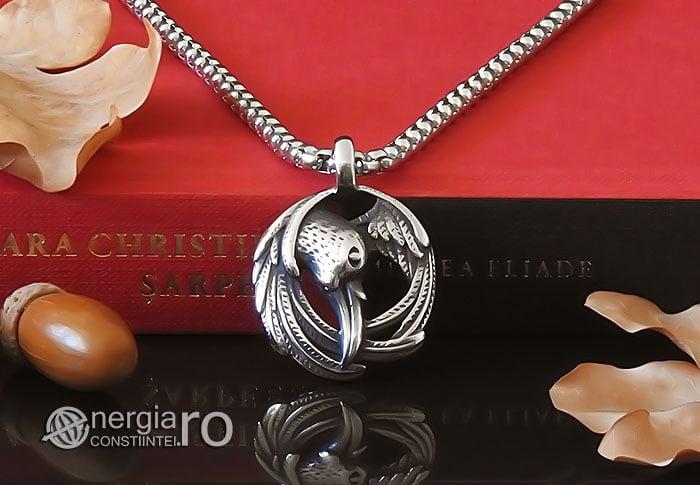 amuleta-talisman-medalion-colier-pandant-pandantiv-corb-cioara-inox-longevitate-PND295-06