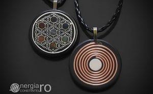 amuleta-talisman-medalion-colier-pandant-pandantiv-orgonic-orgon-floarea-vietii-sapte-cristale-cuart-chakre-spirala-cupru-ORG110-00