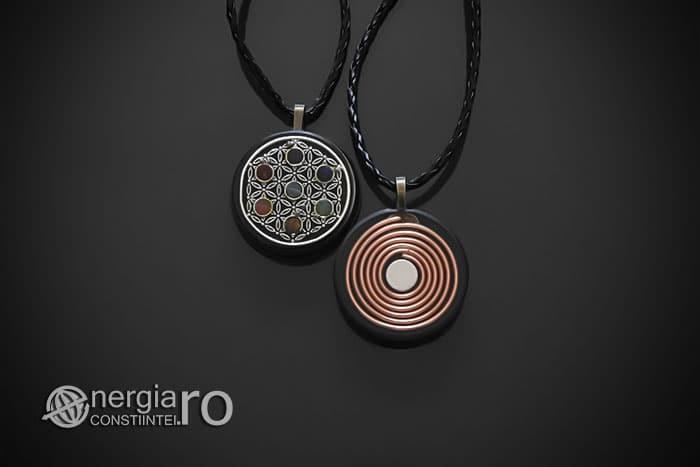 amuleta-talisman-medalion-colier-pandant-pandantiv-orgonic-orgon-floarea-vietii-sapte-cristale-cuart-chakre-spirala-cupru-ORG110-01