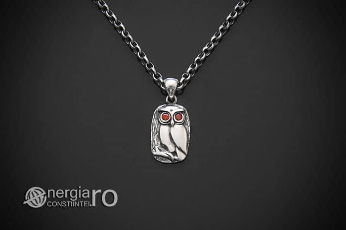 amuleta-talisman-medalion-colier-pandant-pandantiv-protector-protectie-protectoare-bufnita-cucuvea-argint-zircon-925-PND980-01