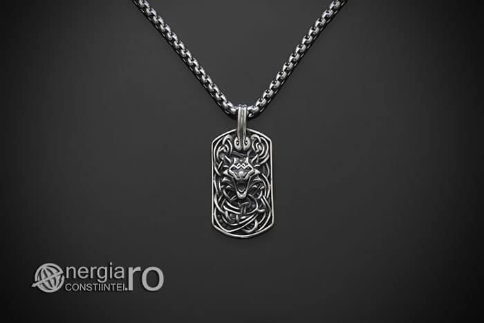 amuleta-talisman-medalion-colier-pandant-pandantiv-tableta-lup-protector-protectie-protectoare-curaj-inox-PND301-01