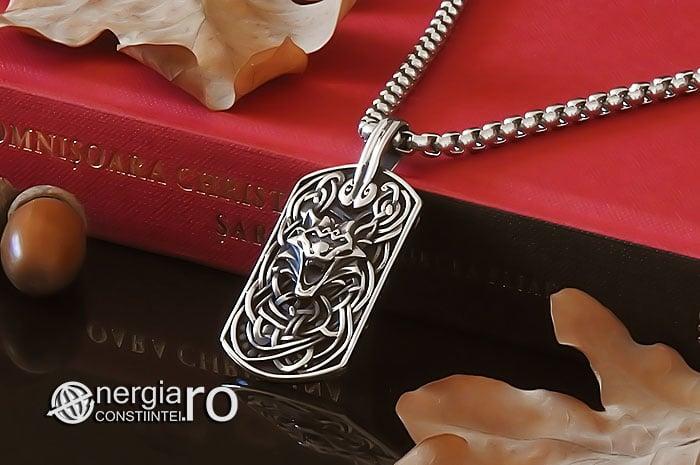 amuleta-talisman-medalion-colier-pandant-pandantiv-tableta-lup-protector-protectie-protectoare-curaj-inox-PND301-04