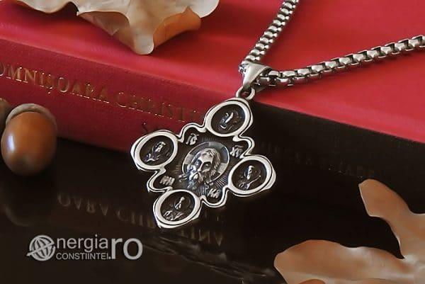 amuleta-talisman-medalion-colier-pandant-pandantiv-cruce-cruciulita-iisus-hristos-isus-cristos-inox-PND310-04
