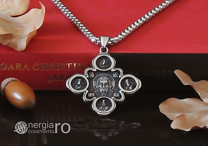 amuleta-talisman-medalion-colier-pandant-pandantiv-cruce-cruciulita-iisus-hristos-isus-cristos-inox-PND310-06