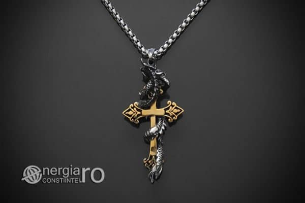 amuleta-talisman-medalion-colier-pandant-pandantiv-dragon-incolacit-cruce-cruciulita-protector-protectoare-inox-PND268-02