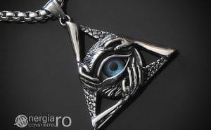 amuleta-talisman-medalion-colier-pandant-pandantiv-triunghi-ochi-deochi-albastru-protectie-protector-inox-PND078-00