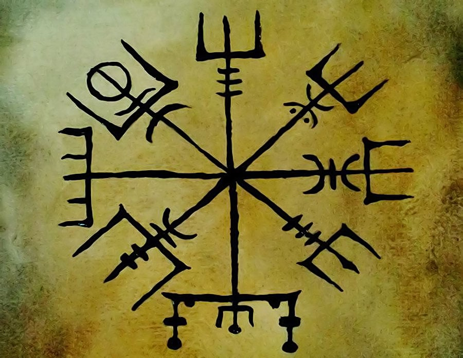 ce-simbolizeaza-semnifica-roata-norocului-busola-magica-vegvisir