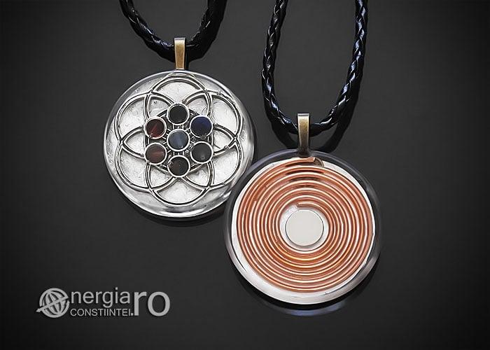 amuleta-talisman-medalion-colier-pandant-pandantiv-orgonic-orgon-floarea-samanta-vietii-sapte-chakre-foita-argint-protector-protectie-ORG142-00