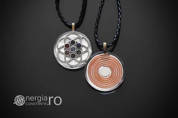 amuleta-talisman-medalion-colier-pandant-pandantiv-orgonic-orgon-floarea-samanta-vietii-sapte-chakre-foita-argint-protector-protectie-ORG142-01