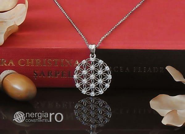 amuleta-talisman-medalion-colier-pandant-pandantiv-floarea-vietii-argint-925-protector-protectie-protectoare-PND600-06