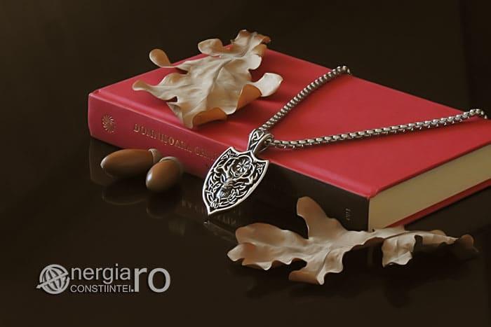 amuleta-talisman-medalion-colier-pandant-pandantiv-cerb-roata-norocului-vegvisir-protector-protectie-protectoare-inox-PND276-03
