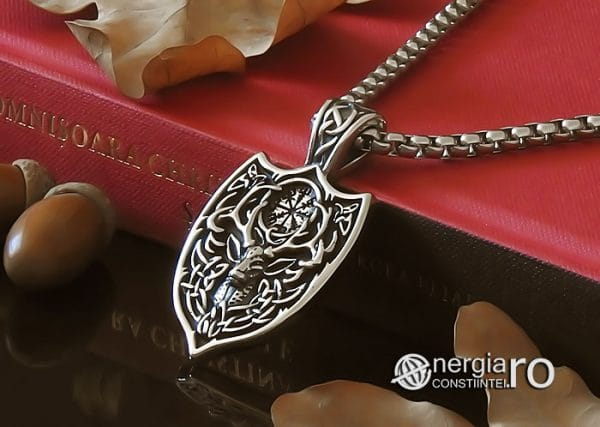 amuleta-talisman-medalion-colier-pandant-pandantiv-cerb-roata-norocului-vegvisir-protector-protectie-protectoare-inox-PND276-04