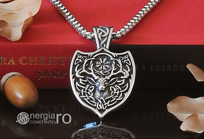 amuleta-talisman-medalion-colier-pandant-pandantiv-cerb-roata-norocului-vegvisir-protector-protectie-protectoare-inox-PND276-06