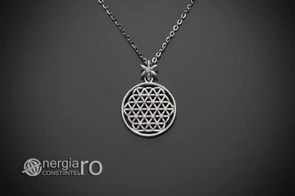 amuleta-talisman-medalion-colier-pandant-pandantiv-floarea-vietii-argint-925-protectie-protector-protectoare-PND601-01