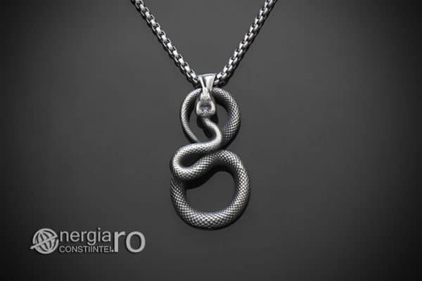 amuleta-talisman-medalion-colier-pandant-pandantiv-sarpe-infinit-protectie-protector-protectoare-inox-PND330-01