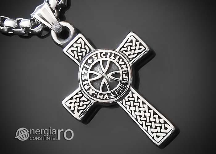 amuleta-talisman-medalion-colier-lant-lantisor-pandant-pandantiv-cruciulita-cruce-malteza-de-fier-protectie-protectoare-protector-inox-PND075-00