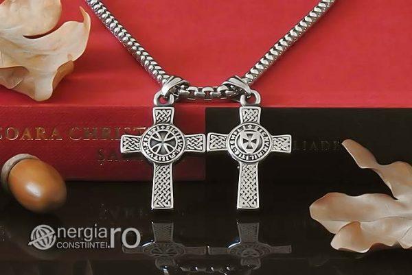 amuleta-talisman-medalion-colier-lant-lantisor-pandant-pandantiv-cruciulita-cruce-malteza-de-fier-protectie-protectoare-protector-inox-PND075-06