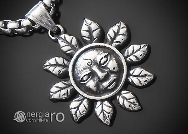 amuleta-talisman-medalion-colier-pandant-pandantiv-soare-solar-protectie-protector-protectoare-inox-PND177-00