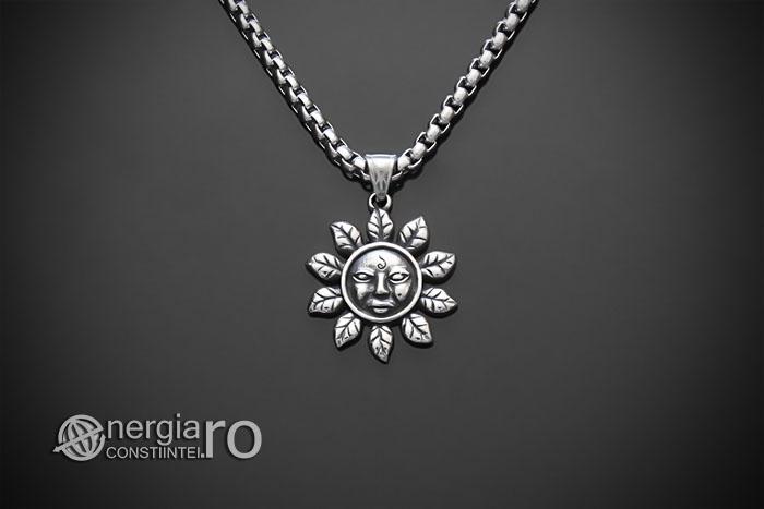 amuleta-talisman-medalion-colier-pandant-pandantiv-soare-solar-protectie-protector-protectoare-inox-PND177-01